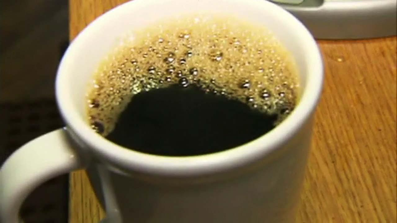 A cup of coffee is seen in this undated file photo.