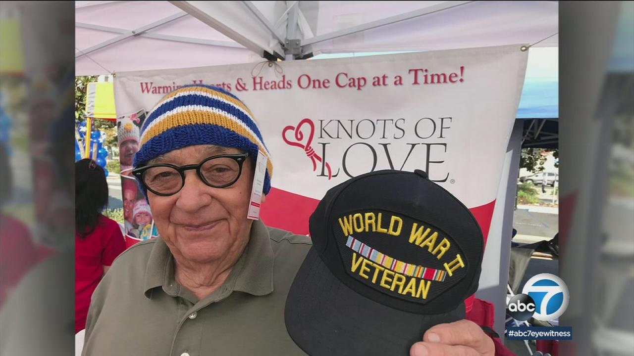 In 10 years, the non-profit has shipped 380,000 beanies around the country to veterans and cancer patients.