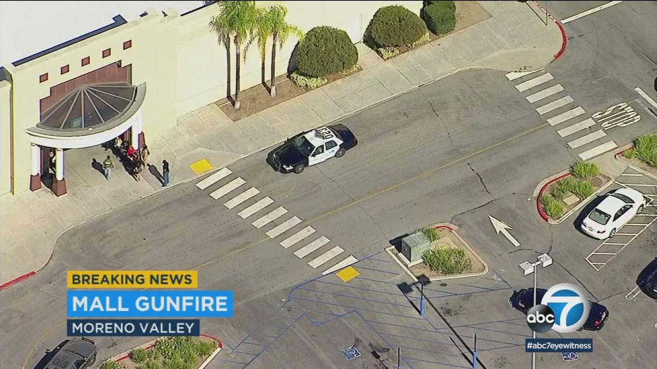 A shooting at the Moreno Valley Mall on Thursday afternoon prompted authorities to place the shopping destination on lockdown for more than an hour.