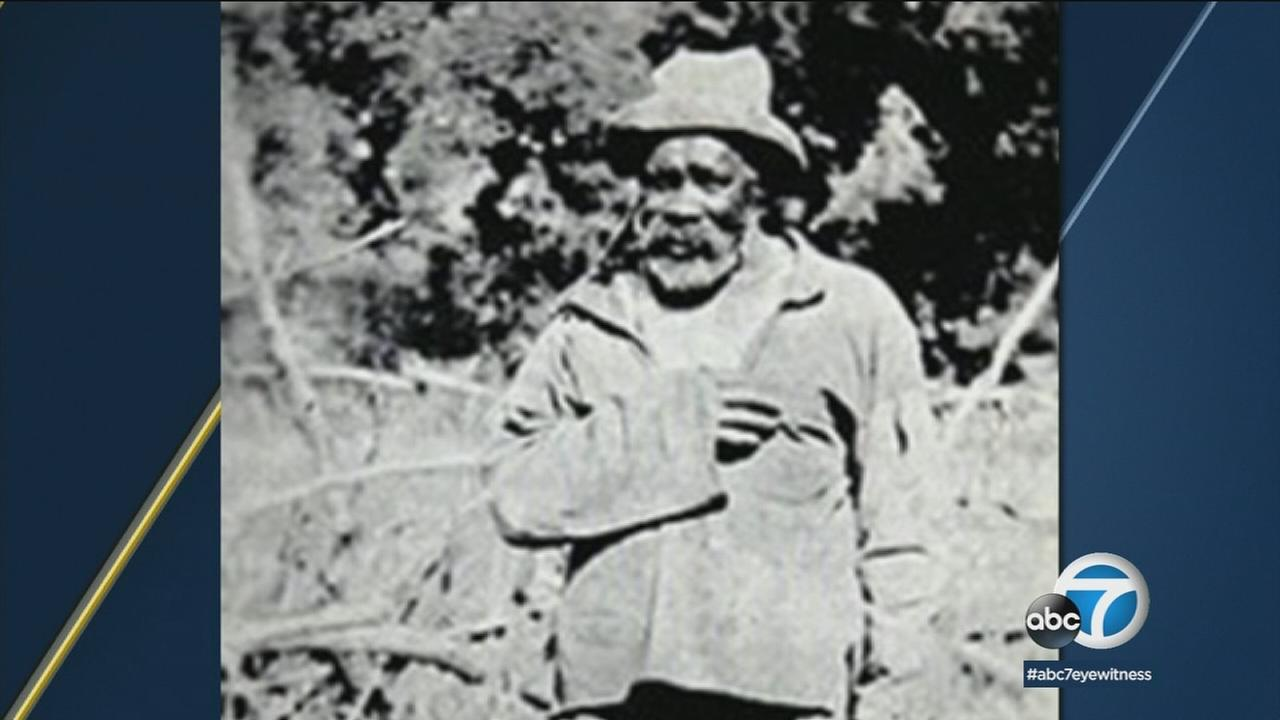 Former slave John Ballard was the first African-American to settle in the hills above Malibu and now is honored with a mountain honoring his name and legacy.