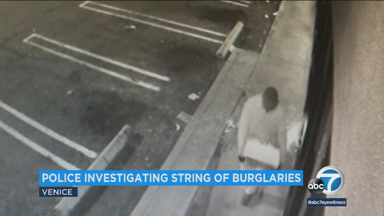 Authorities in Westchester are investigating whether a smash-and-grab at a Japanese restaurant is linked to two other burglaries in Venice.