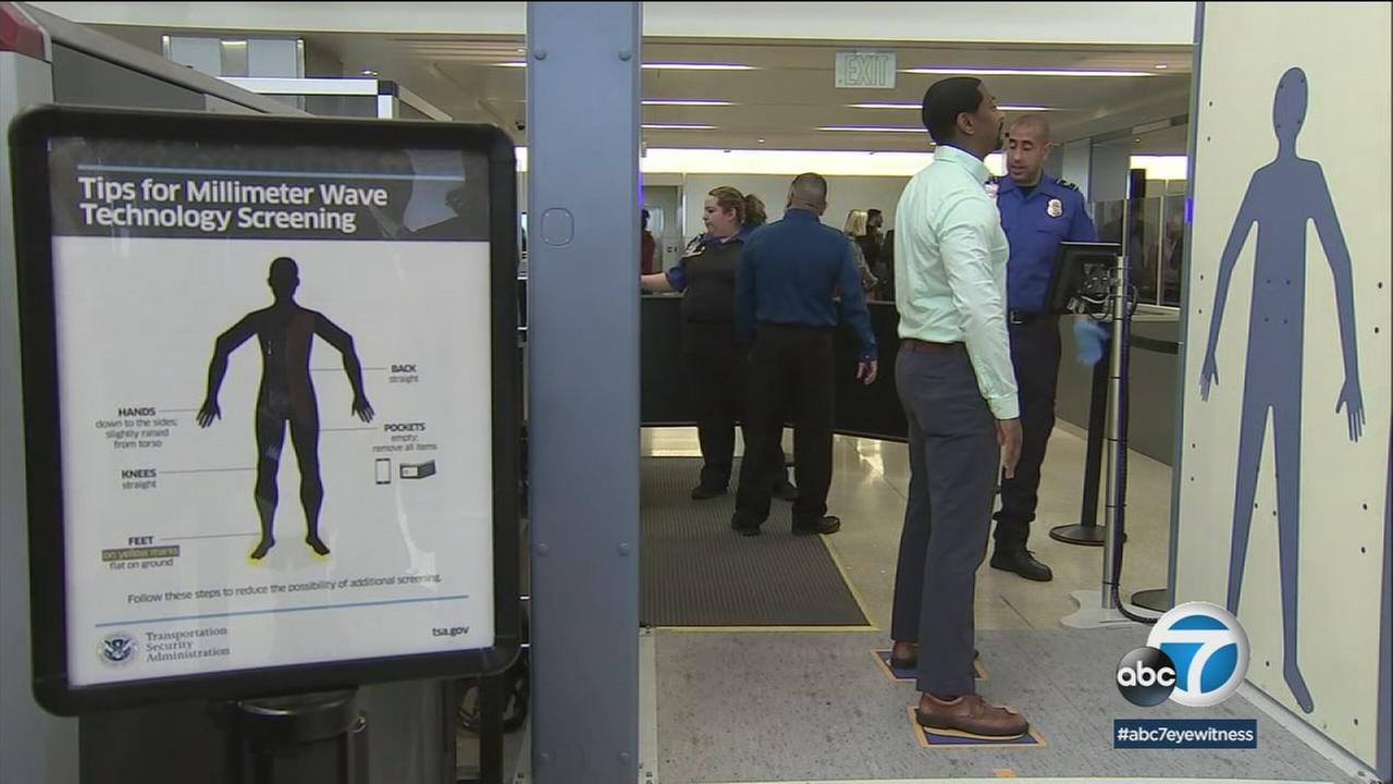 LAX is testing two new technologies; facial e-recognition and advanced imaging technology.
