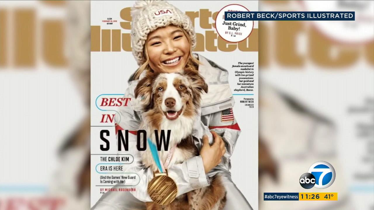 Orange County native Chloe Kim won gold for the U.S. at the Winter Olympics and is now featured in the latest issue for Sports Illustrated.