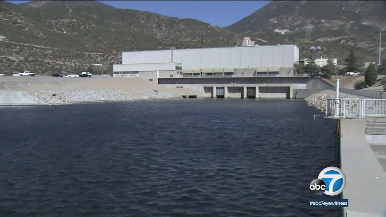 The San Bernardino Valley Municipal Water District is taking advantage of last years record-setting storms and filling its three reservoirs.