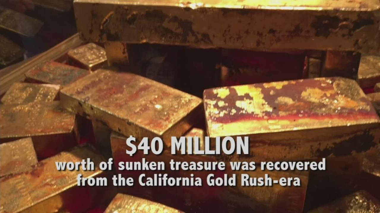 If you live in Southern California, you now have a rare chance to get a glimpse of millions of dollars-worth of sunken treasure.