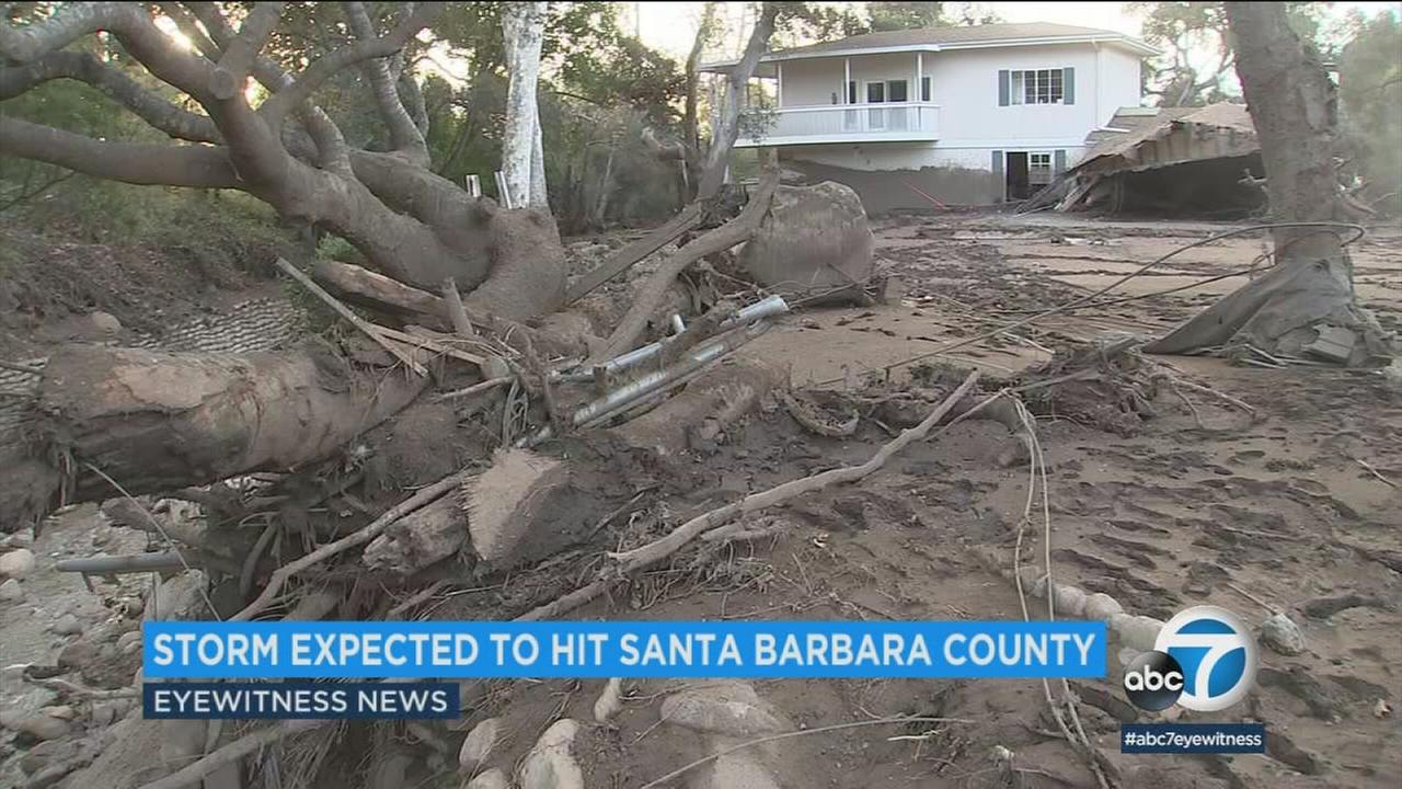 Officials in Santa Barbara County are trying to get ahead of the storms.