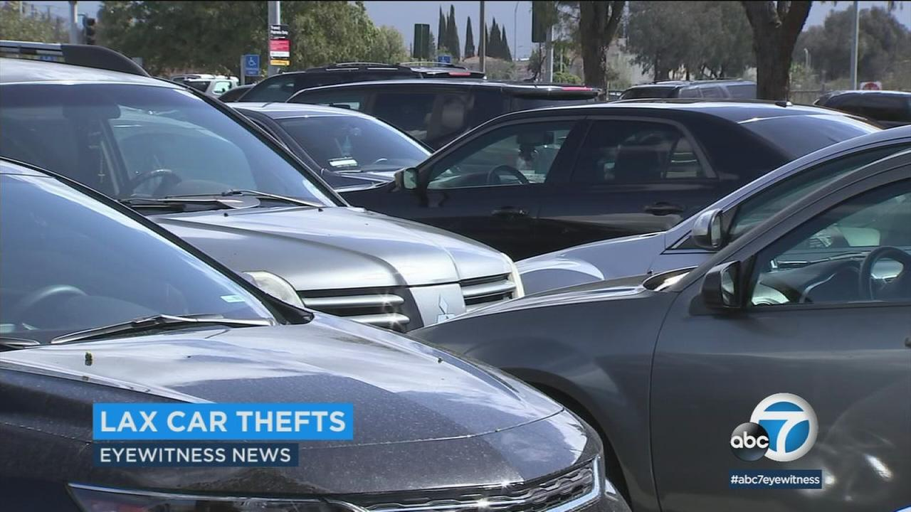 LAX workers say construction projects have moved employee parking spaces farther from the airport, resulting in more car break-ins and more hassles getting to work.