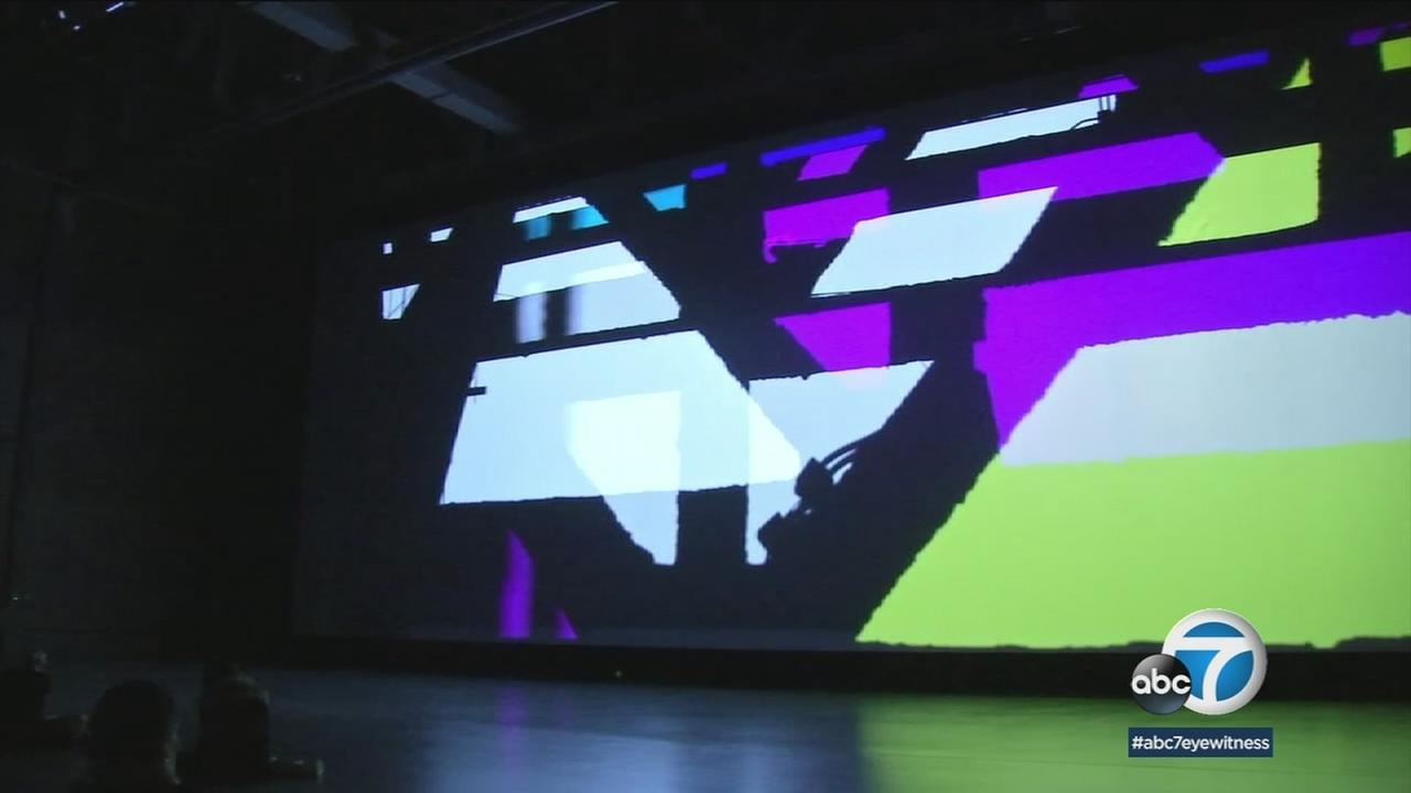 A new art exhibit called Reality Projector that explores light and sound opens Thursday at LAs Marciano museum.