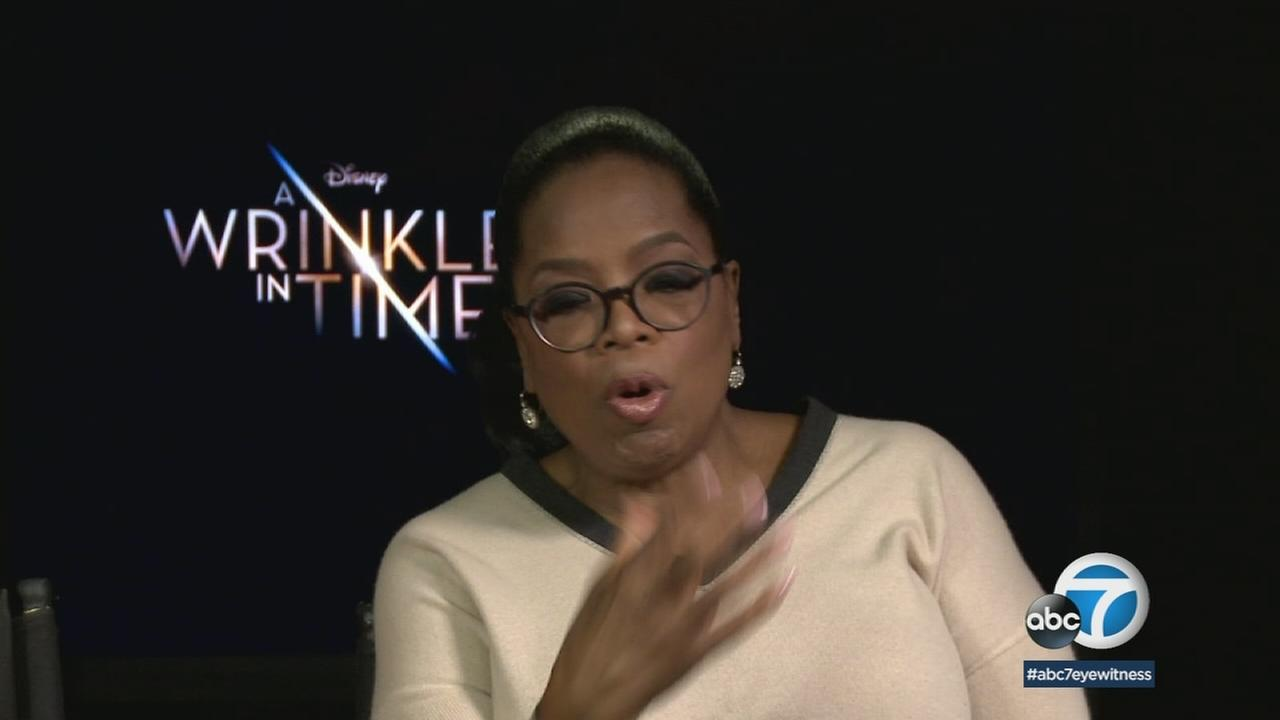 Oprah Winfrey wants you to bring your inner child to see A Wrinkle in Time.