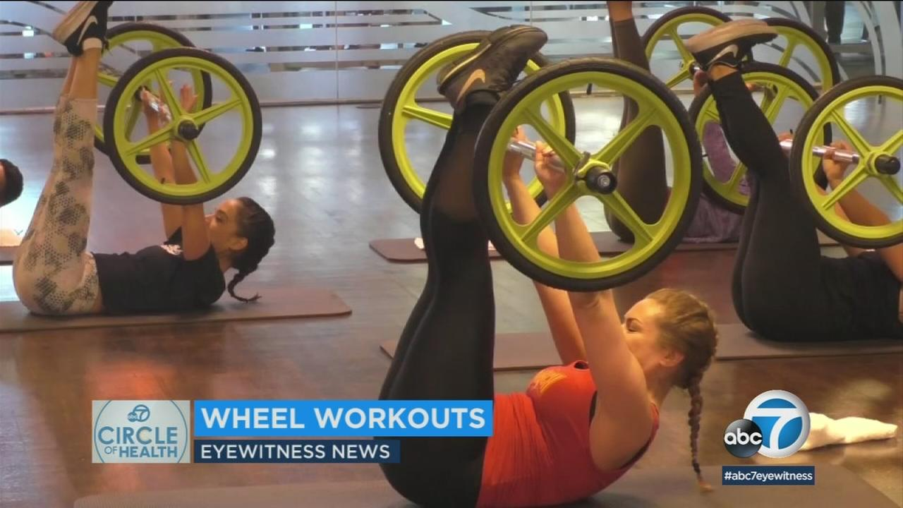 A new trend in fitness adds wheels to workouts for strength, cardio and balance.