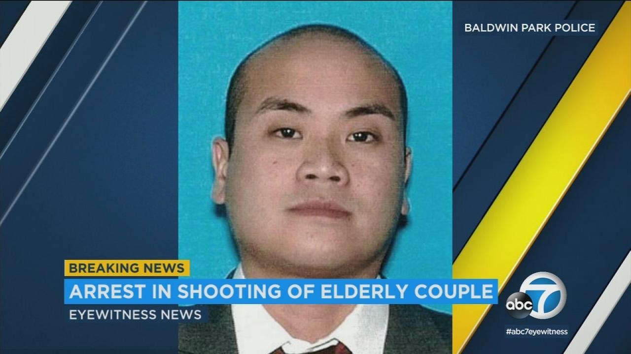 Idaho state troopers arrested Paul Mendoza Allen, 34, who was wanted in the shooting of a couple in Baldwin Park.