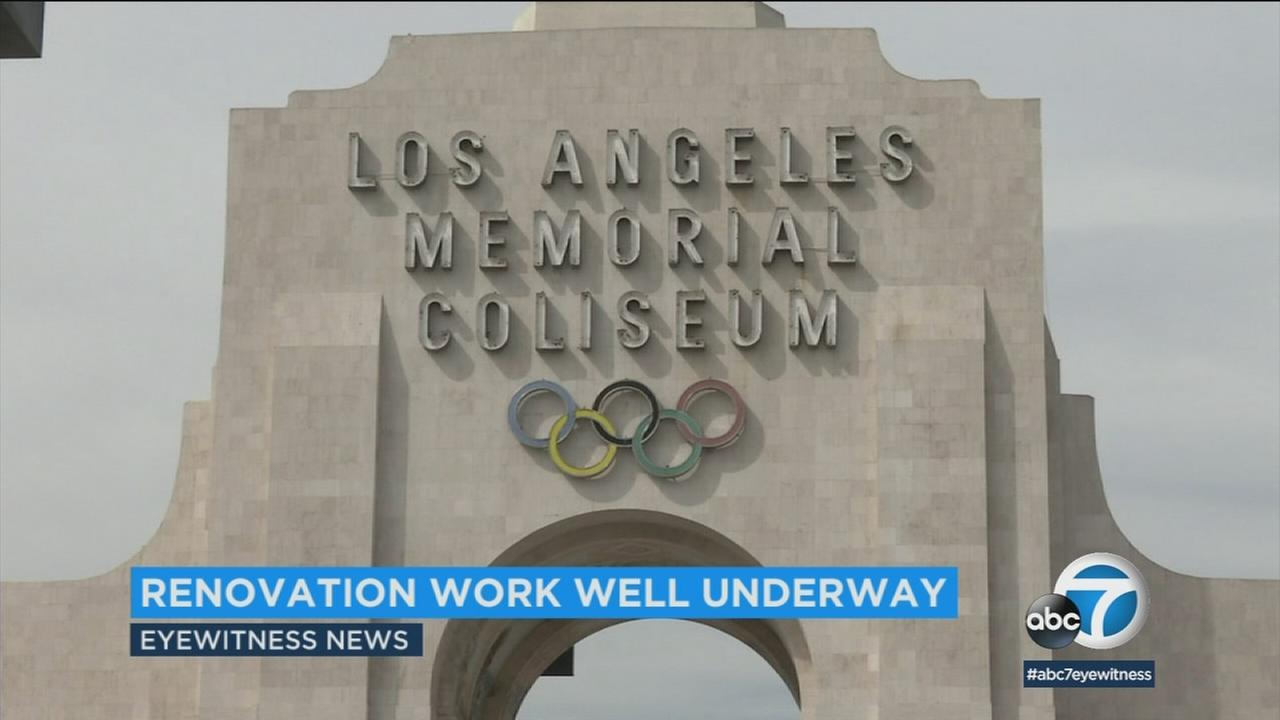 A hiring event Thursday was helping to connect Los Angeles residents with construction jobs for the Coliseum renovation.