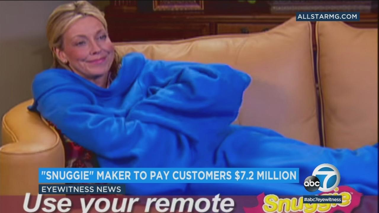 The company behind the popular Snuggie blanket will refund customers more than $7.2 million for deceptive advertising.