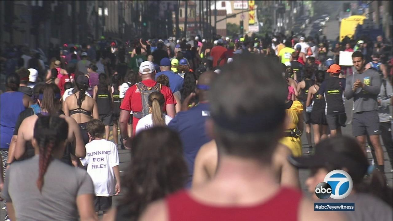 Thousands of runners are preparing to hit the pavement for Sundays LA Marathon.