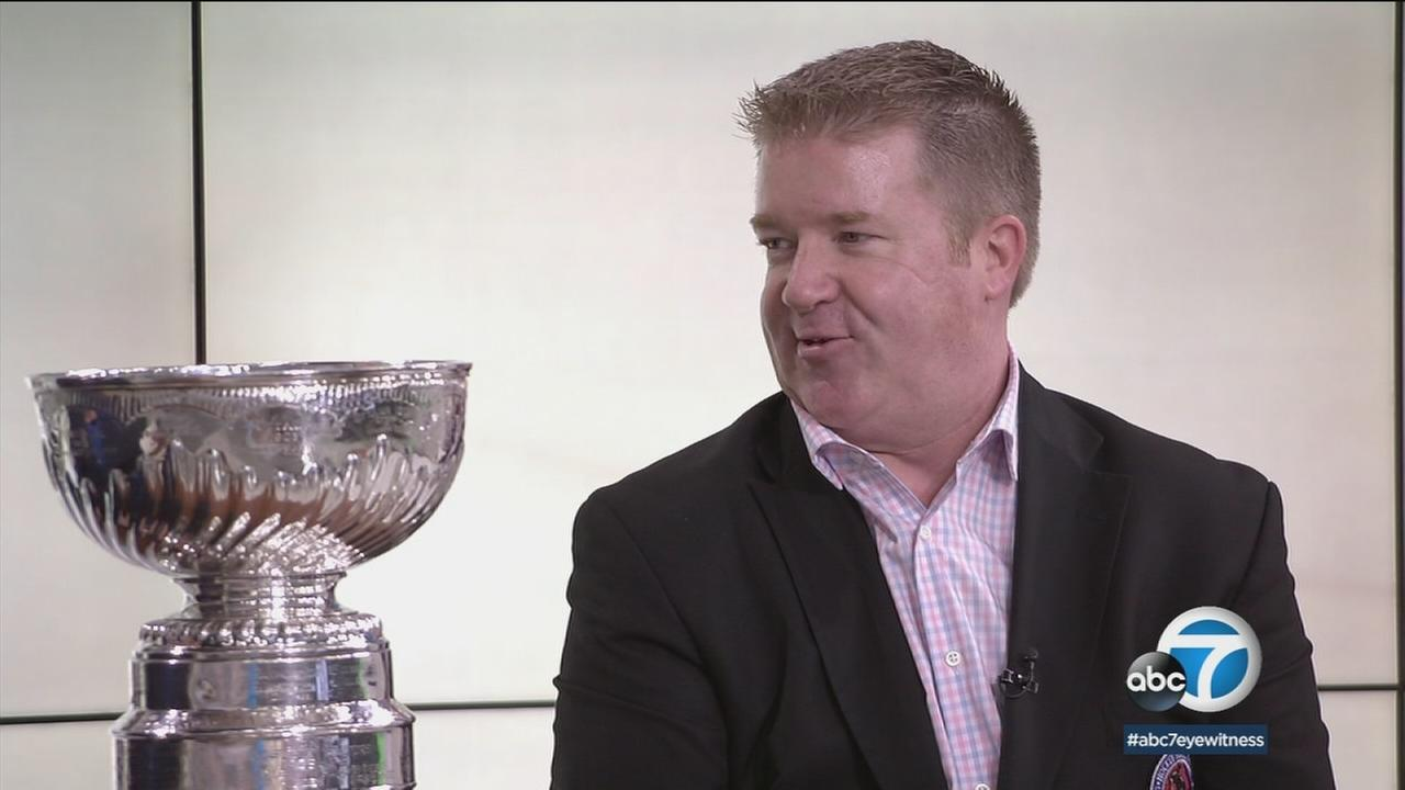 The keeper of the Stanley Cup travels with hockeys coveted trophy for some 300 days a year and has plenty of stories.