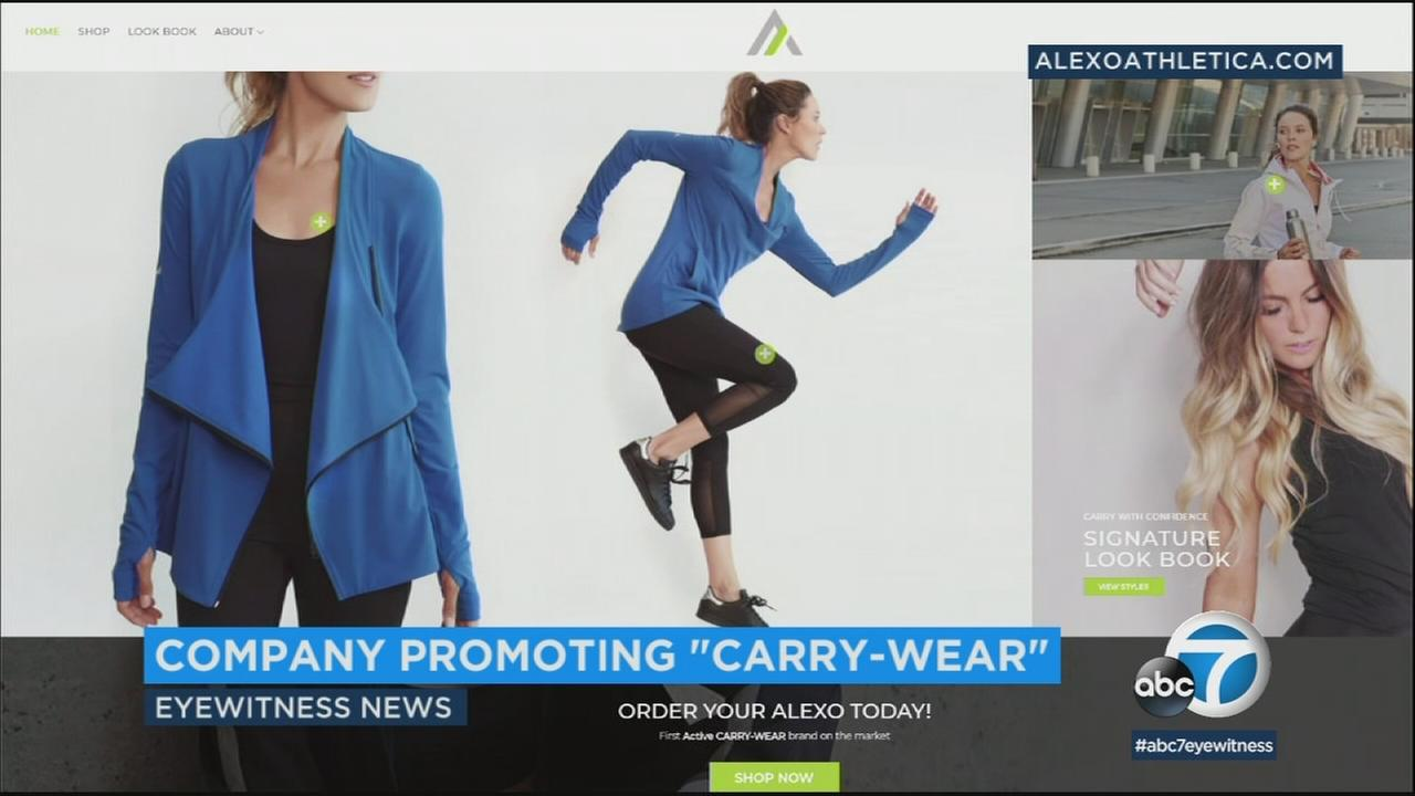 Alexo Athletica has come out with a yoga pant that can hold it all, including a gun.