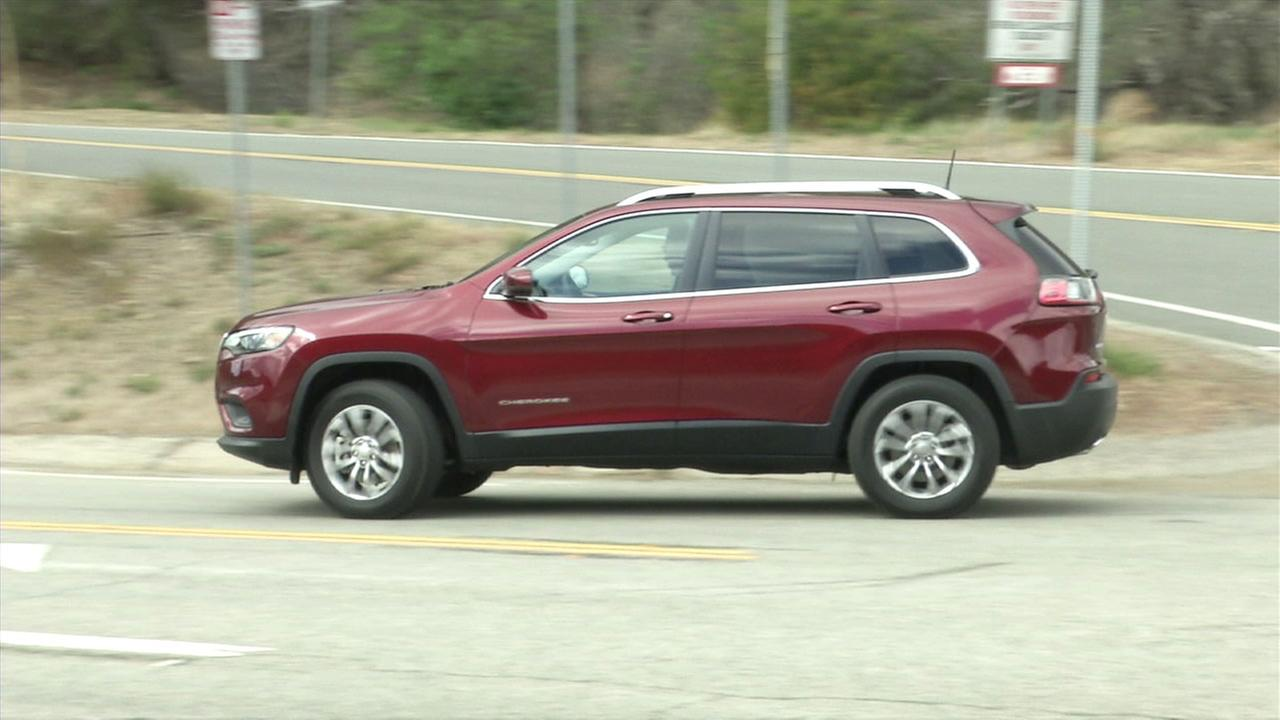 An undated photo of a Jeep Cherokee.