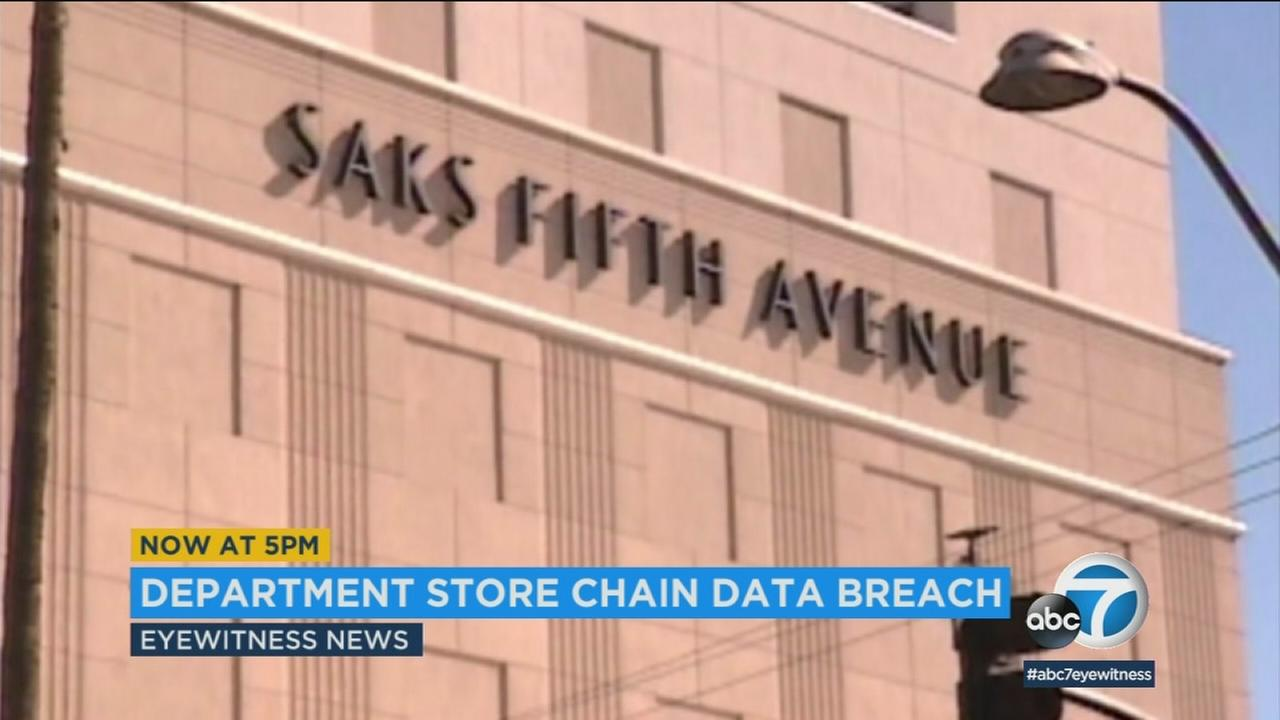 A data breach at department store chains Saks Fifth Avenue, Saks Off Fifth and Lord and Taylor has compromised the personal information of customers.