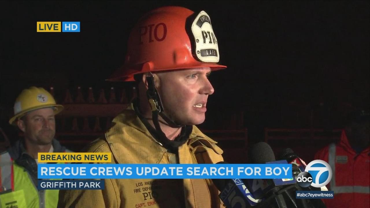 Its with happy hearts that all Los Angeles city agencies are able to state that we have found Jesse Hernandez, fire Capt. Erik Scott said at the scene Monday morning.