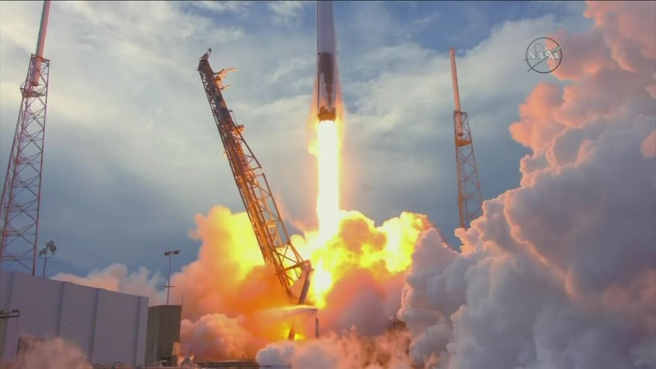 Just three days after launching 10 satellites from Vandenberg, a cargo mission lifted off from Cape Canaveral on Monday, April 2, 2018.