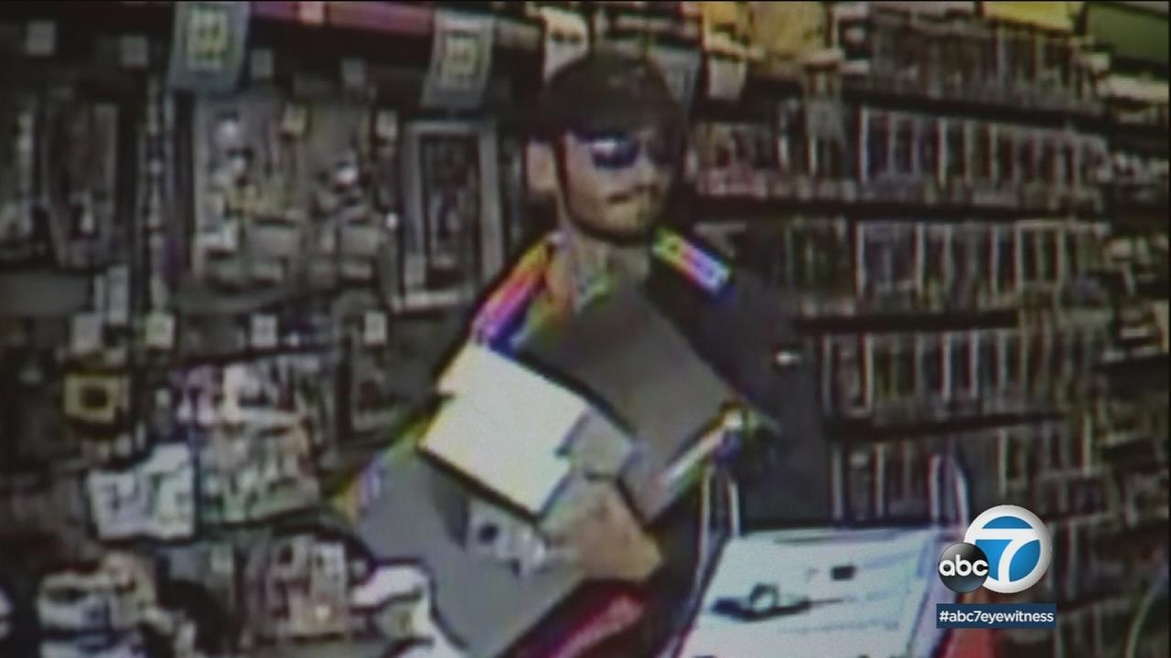 Los Angeles police need your help in their search for a robbery suspect theyve dubbed the shaggy bandit.