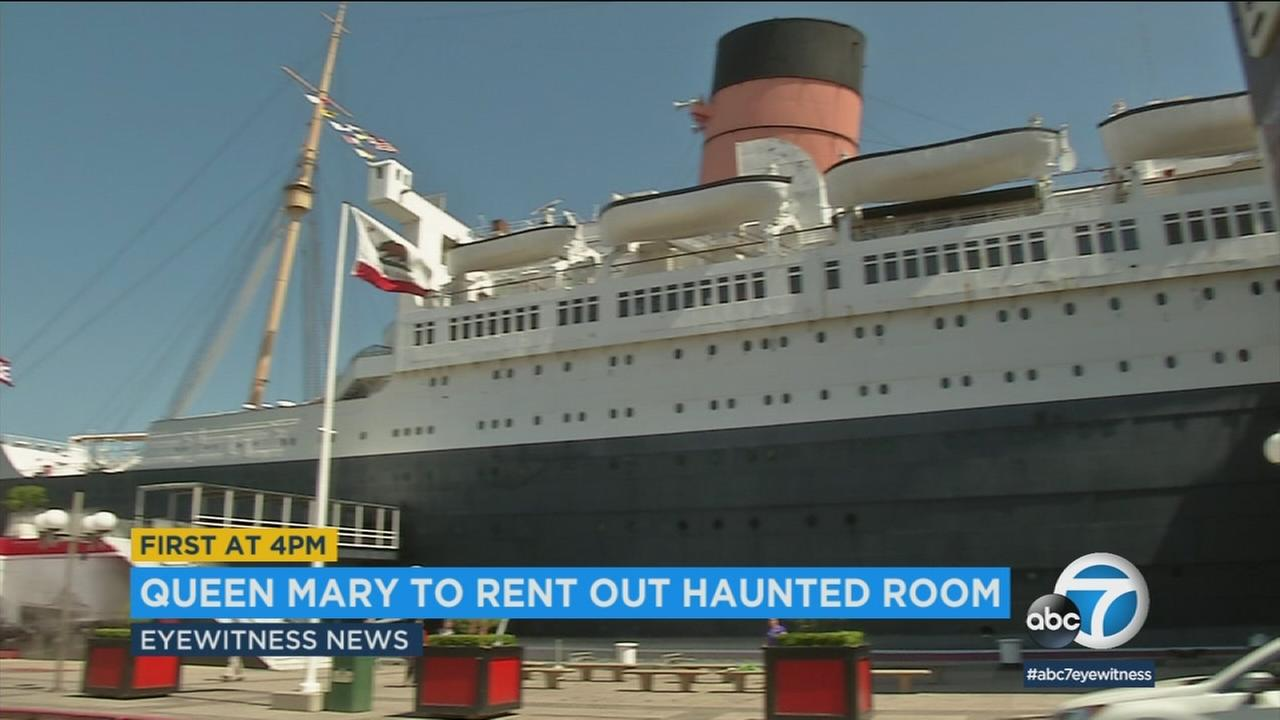 Thrill seekers can now rent from the Queen Marys most haunted room for the first time in 30 years.