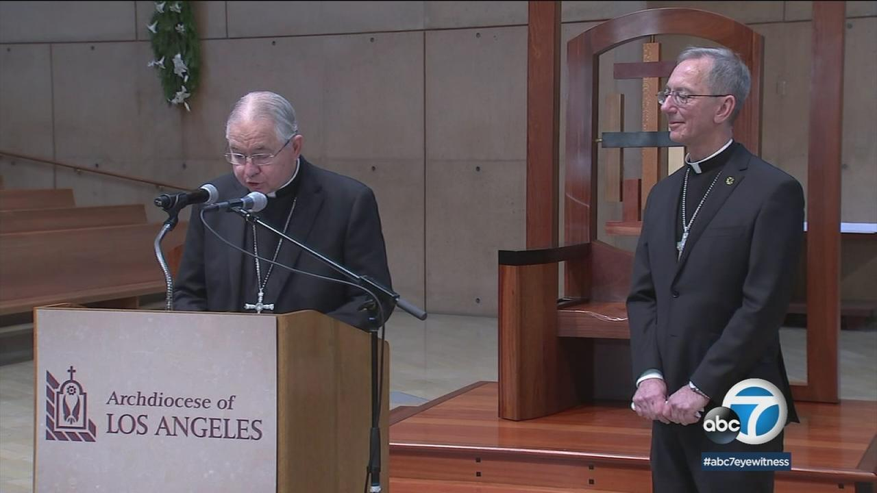 Hollywood-born former dentist Msgr. Marc V. Trudeau has officially been named auxiliary bishop of the Archdiocese of Los Angeles.