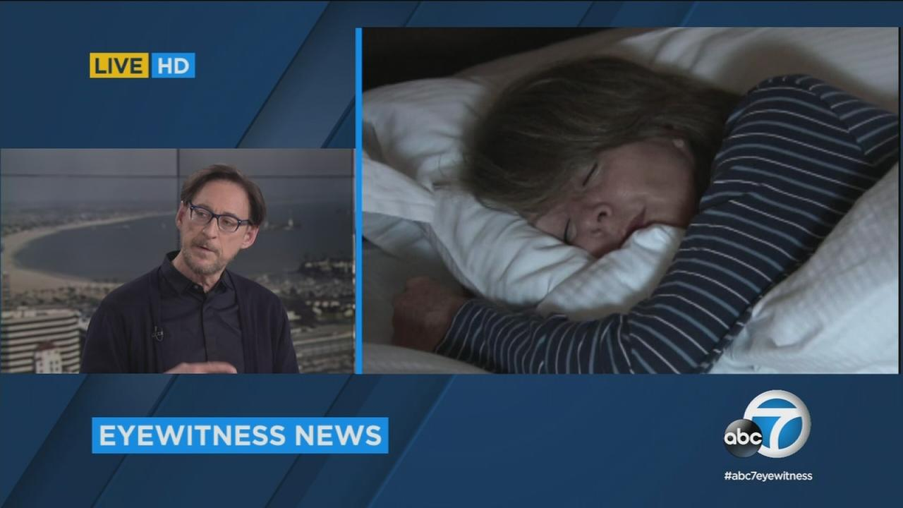 Dr. Harvey Karp, a sleep expert world-renowned pediatrician, spoke with ABC7 about a variety of sleep-related topics - including the disorder orthosomnia.
