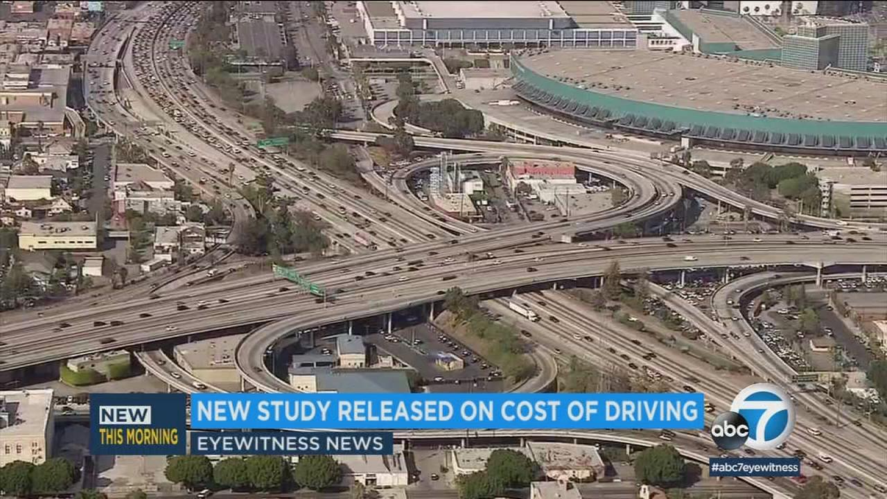 A new study is out on the cost of driving, and the most expensive charge U.S. drivers faced last year was parking.
