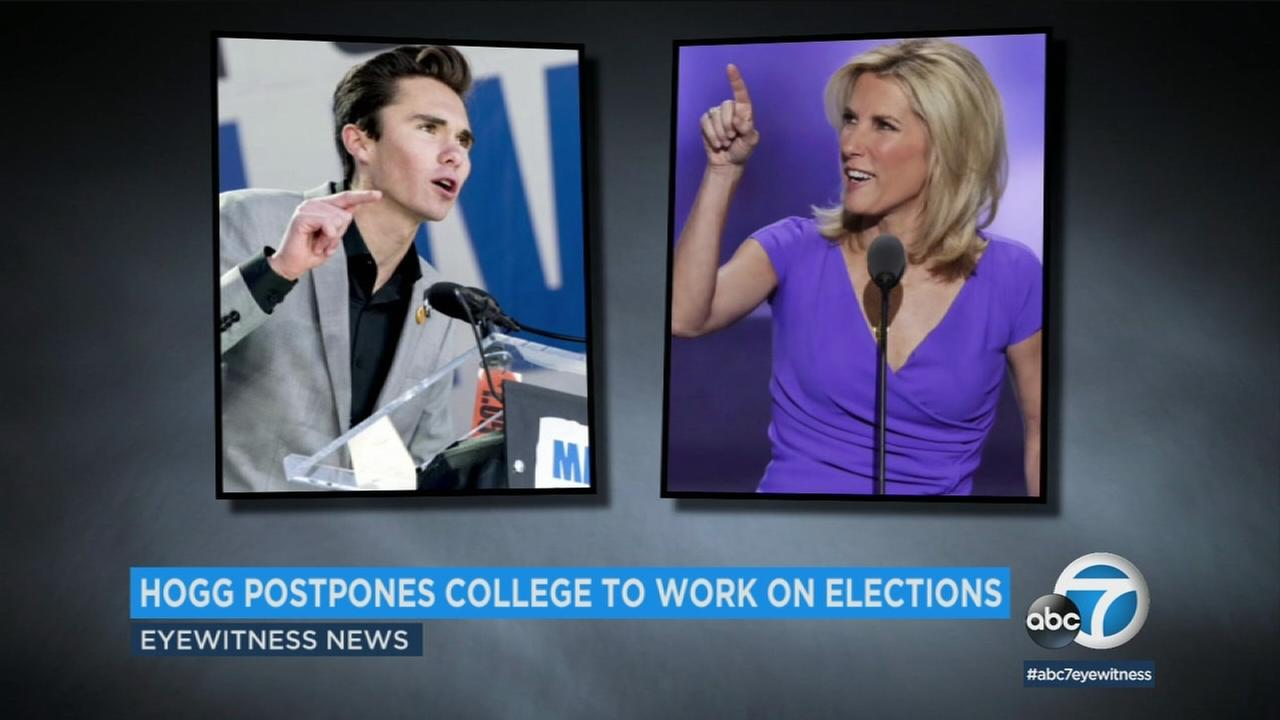 David Hogg, one of the survivors of the Parkland shooting at Marjory Stoneman Douglas High School, has been accepted to UC Irvine.