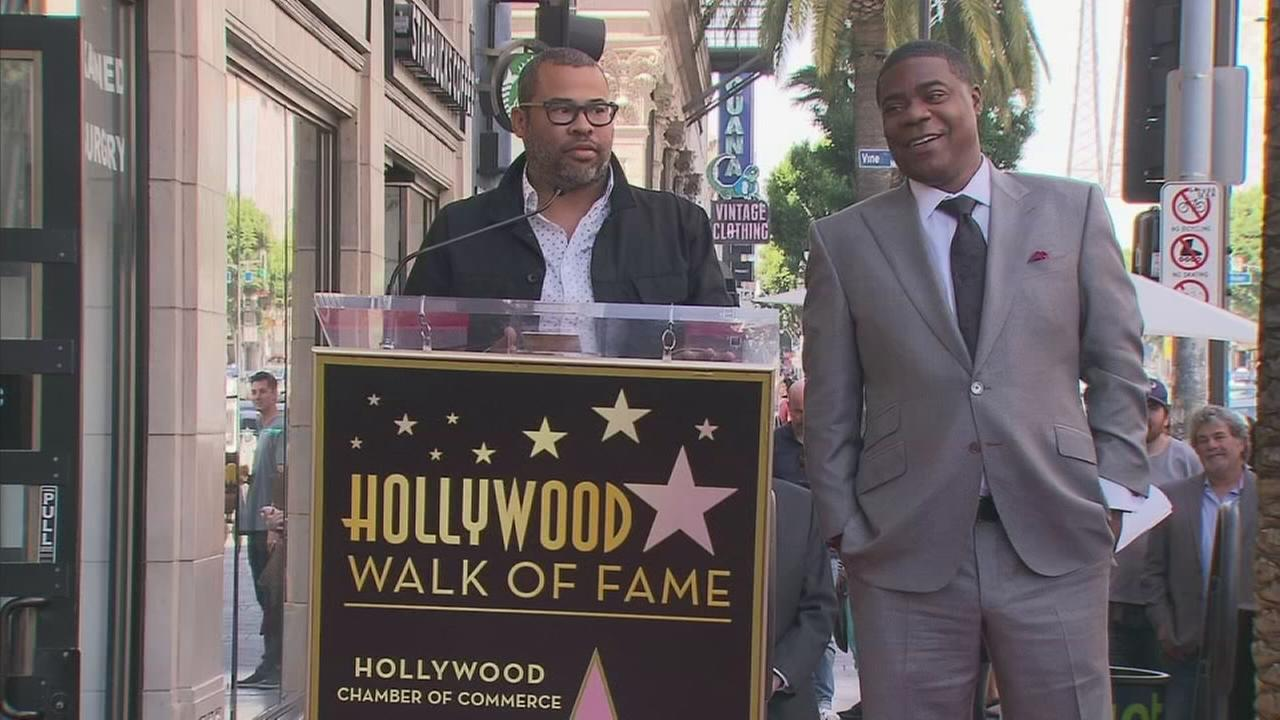 Former Saturday Night Live cast member Tracy Morgan now has a star on the Hollywood Walk of Fame.