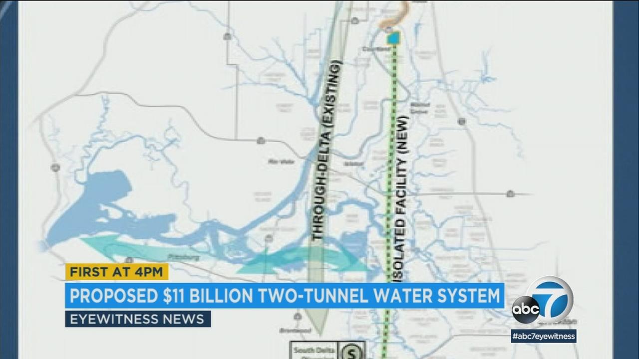 Officials have voted in favor of a proposed two-tunnel system that would deliver much needed water to Southern California.