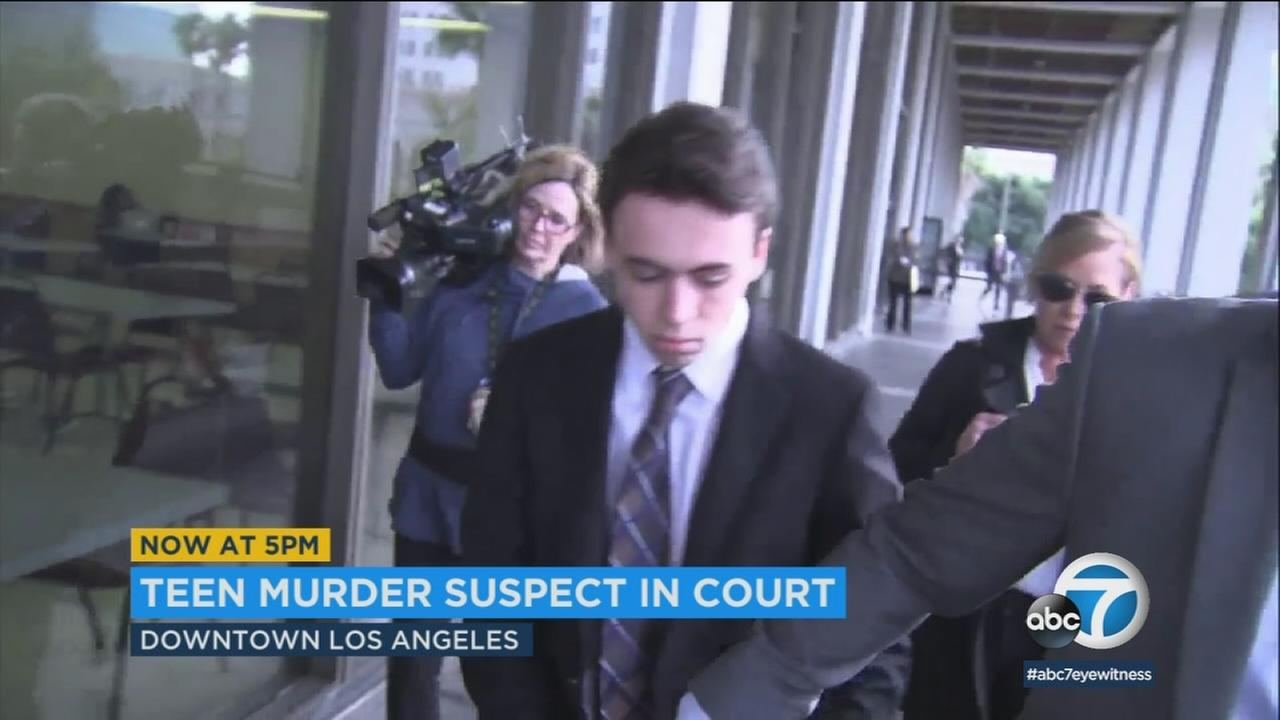 In court Tuesday, detectives testified that Cameron Terrell, an 18-year-old from Rancho Palos Verdes, is linked to a South LA gang murder.