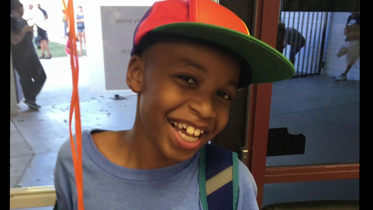Nolan Brandy, 10, is shown in an undated photo.
