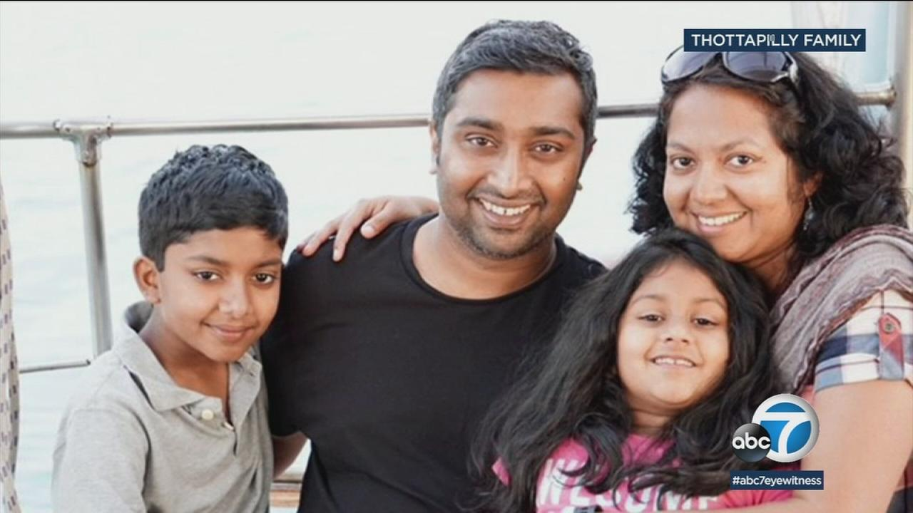 Searchers looking for a Valencia family whose SUV plunged into a NorCal river found a car and the bodies of a man and a child in it.