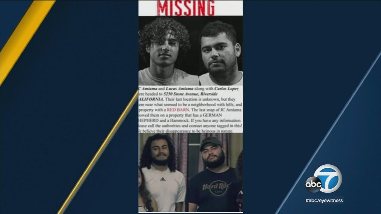 A photo of two Bakersfield brothers identified as two people found dead inside a vehicle in Burbank.