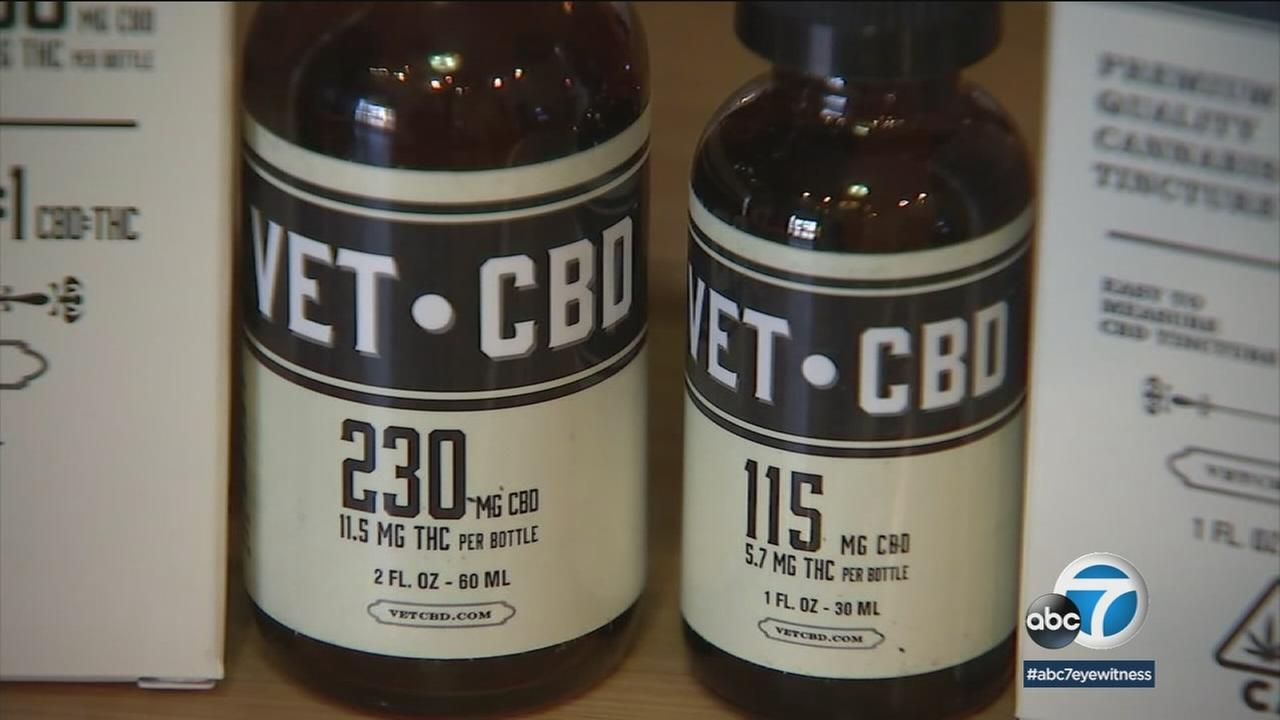A veterinarian created a CBD medicine for animals.
