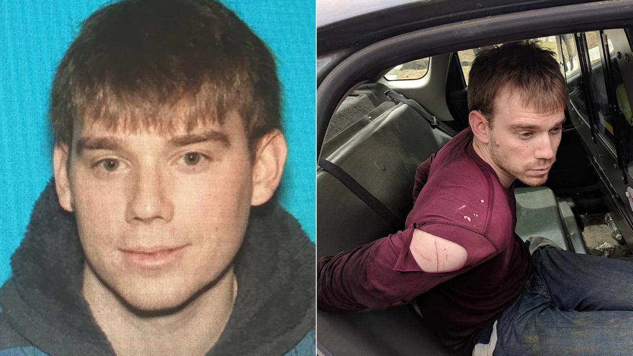 Metropolitan Nashville Police said that 29-year-old Travis Reinking was taken into custody not far from his apartment.