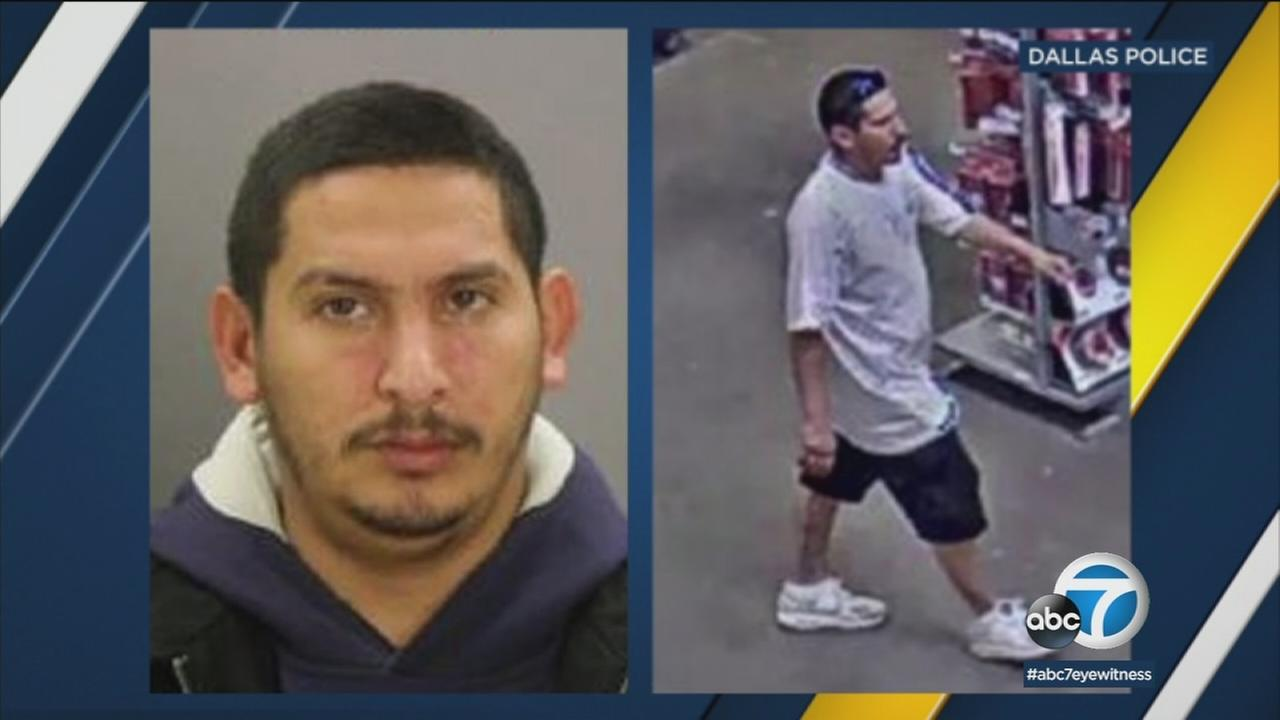 Armando Luis Juarez, 29, is shown in an undated DMV photo alongside him inside a Home Depot store in Texas.