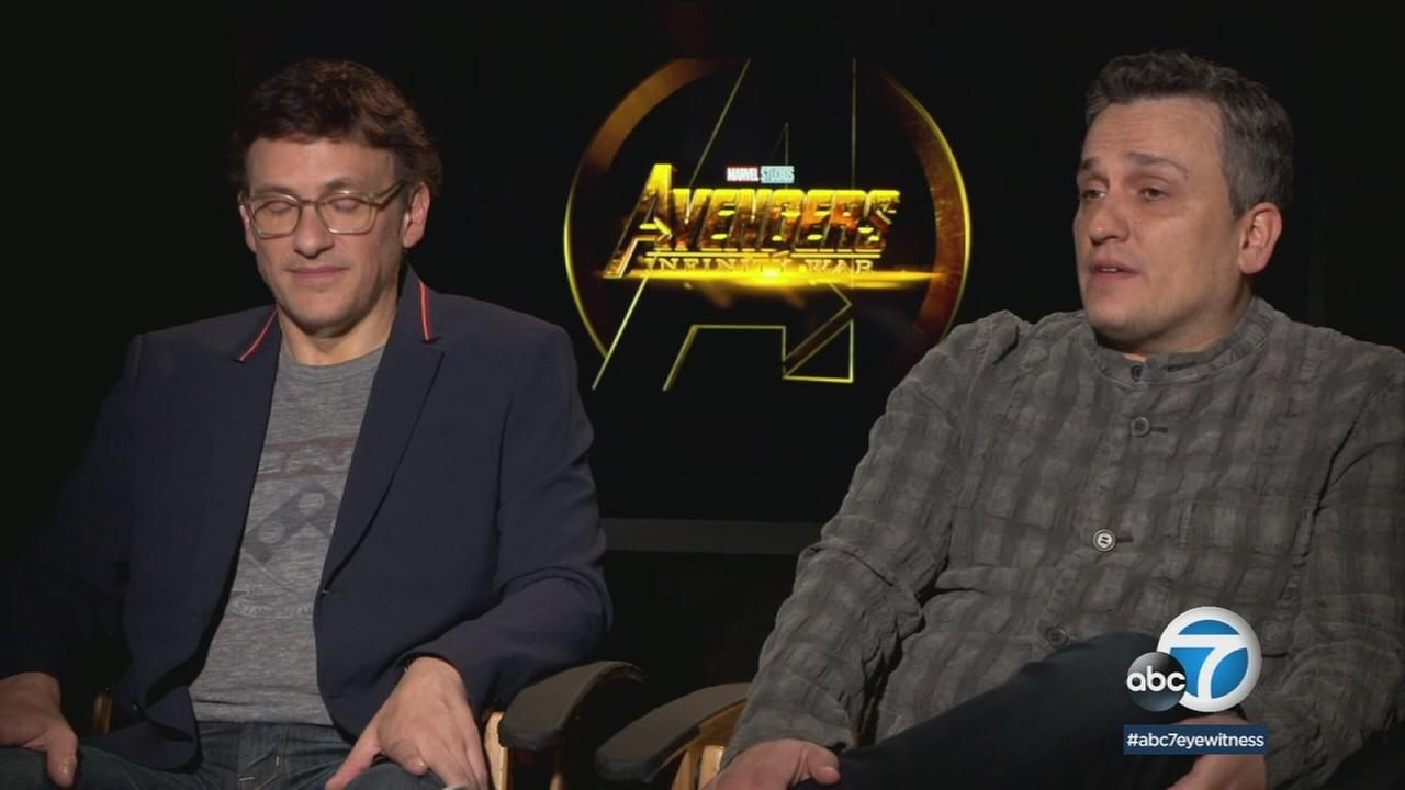 The Russo brothers discuss directing Avengers: Infinity War, the latest film of the Marvel Cinematic Universe.