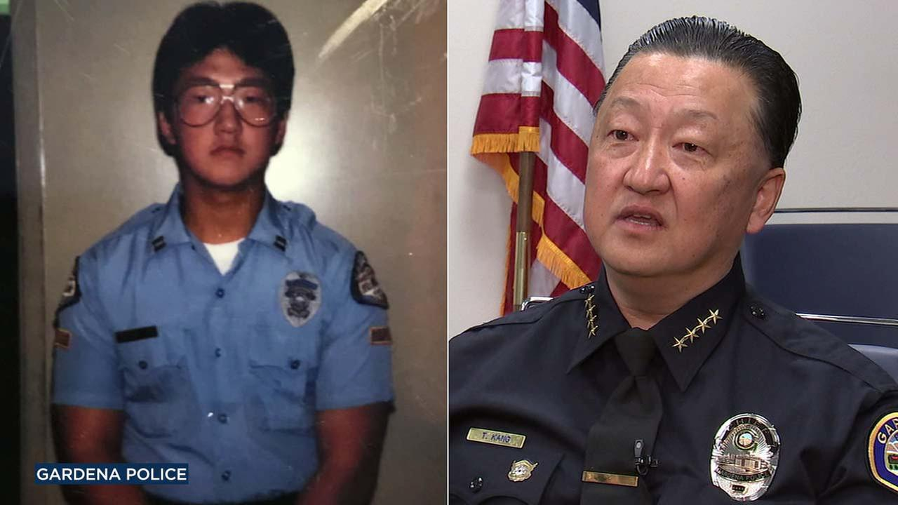 Gardena Police Department Chief Thomas Kang.