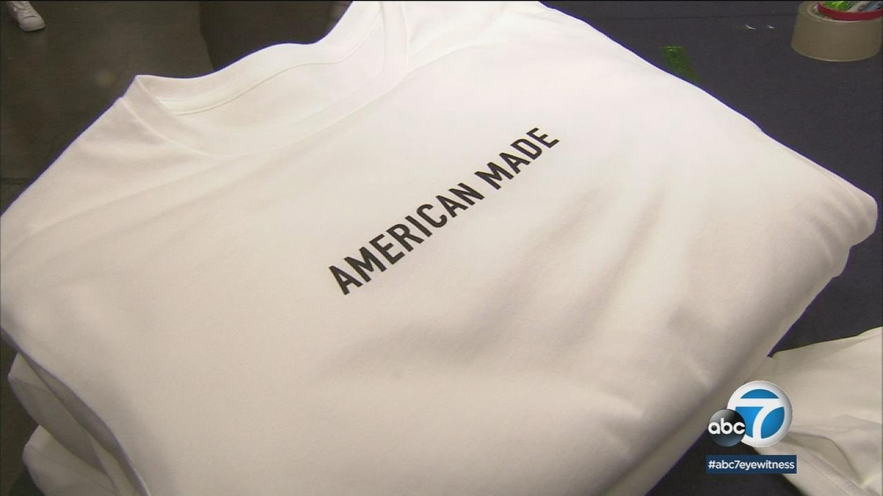 It is a new clothing company kicking things off with a timely social media campaign about what makes this country great.