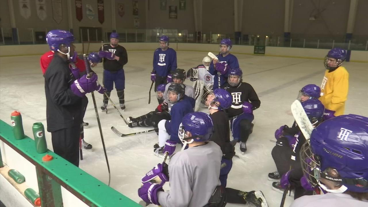 High School students live at Tahoe Prep Hockey Academy, where the mission is to get them to reach their full potential as young men, students and hockey players.