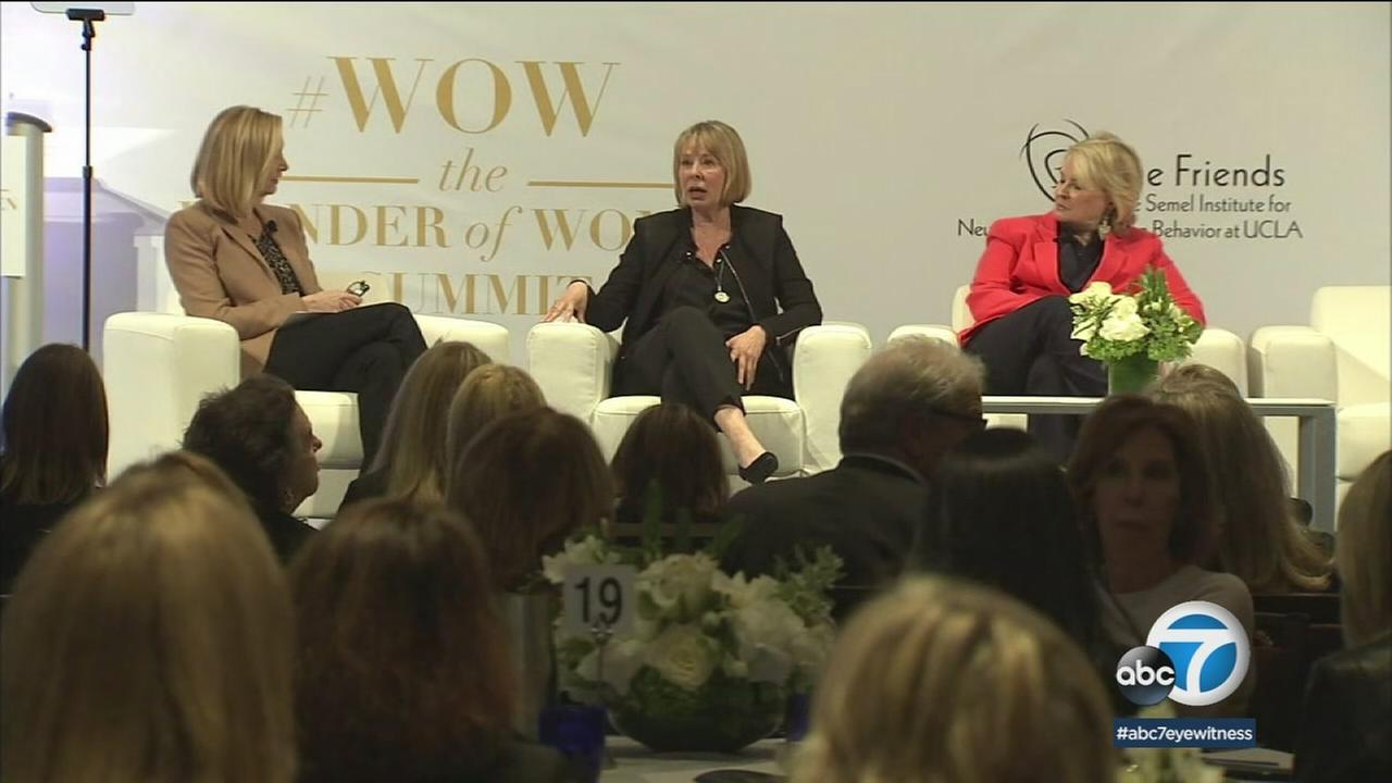 Hundreds of women took part in a conversation about health and wellness at UCLA as part of the first-ever WOW summit.
