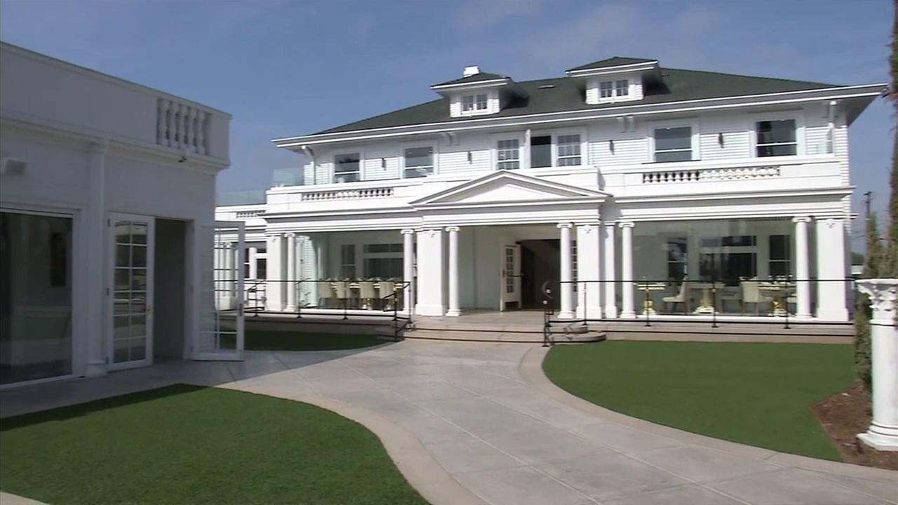 The Anaheim White House is shown after it was rebuilt and renovated 15 months after a devastating fire nearly destroyed the restaurant.