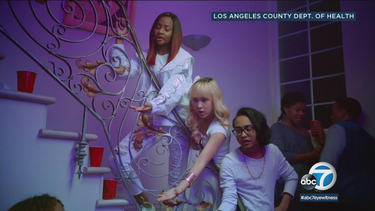LA County launched a social media campaign using rap music delivered by teens to warn their peers just because marijuana is legal, it doesnt mean it cant harm people their age.