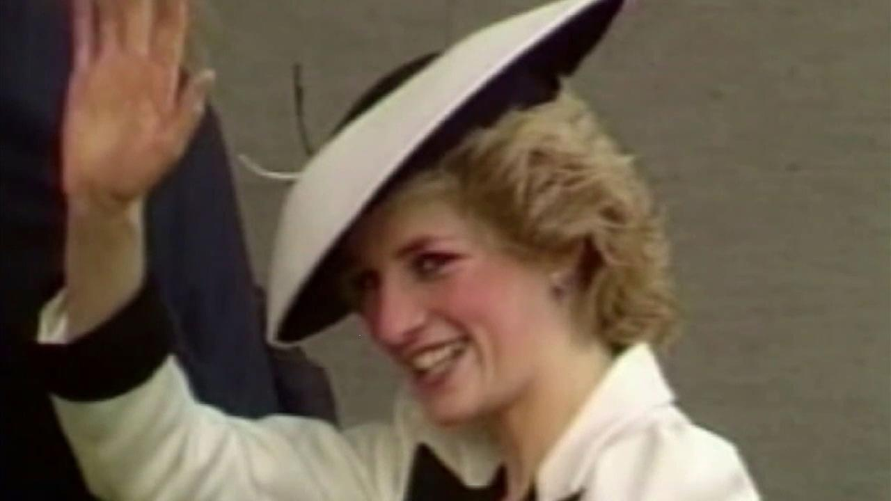 An undated photo of the late Princess Diana.