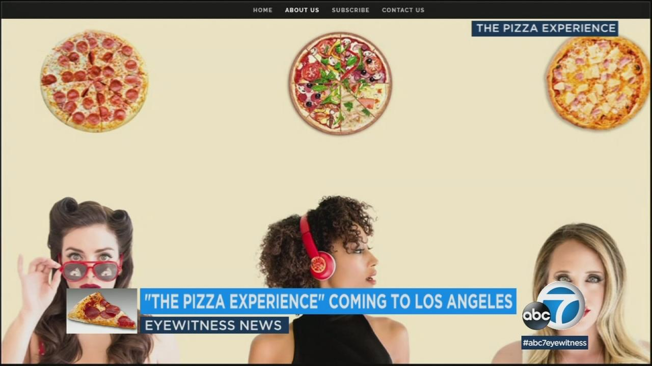 Everyones dream pizza can now become a reality thanks to an interactive pizza-themed pop-up that is coming to Los Angeles.
