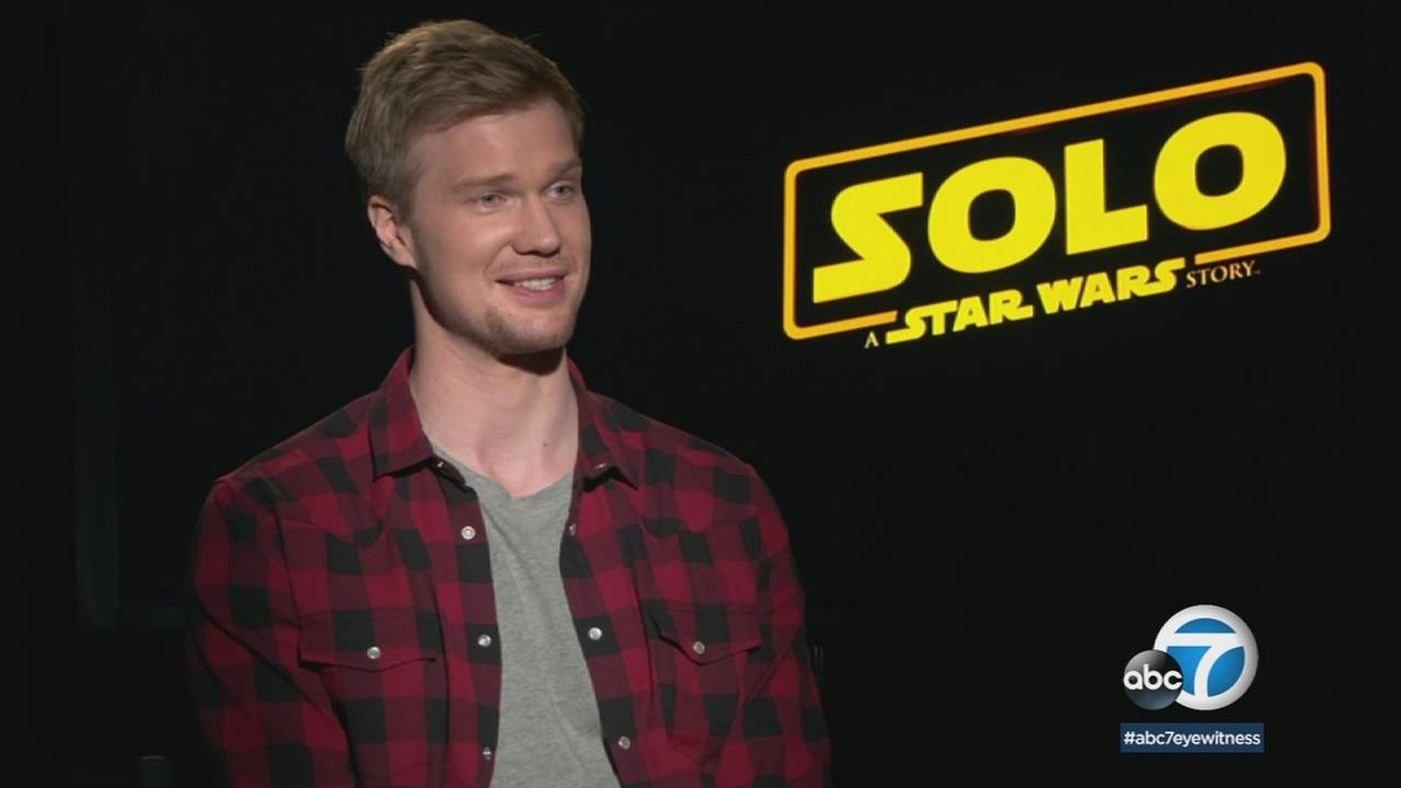 Finnish actor Joonas Suotamo plays the role of Chewbacca, the hairy Wookie character in the latest Star Wars movie.