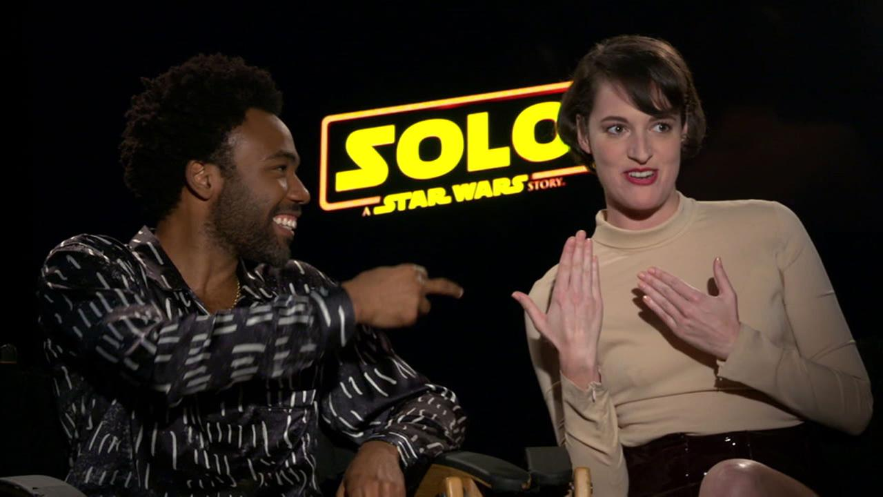 Newcomers Donald Glover and Phoebe Waller-Bridge bring a unique partnership to Solo: A Star Wars Story.